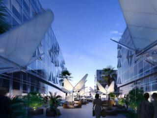 Dubai Design Week Leaf-Lids Market